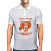 Bears This Team Makes Me Drink Mens Polo