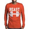 BEAST GYM Mens Long Sleeve T-Shirt