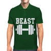 BEAST GYM Mens Polo