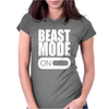 Beast Mode On Womens Fitted T-Shirt