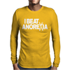Beat Anoexia Mens Long Sleeve T-Shirt