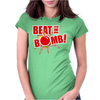 Beat the bomb Womens Fitted T-Shirt