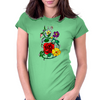 Beautiful flowers Womens Fitted T-Shirt