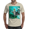 Beautiful mermaid with dolphin Mens T-Shirt
