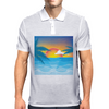 Beauty Sunset Beach Landscape Mens Polo