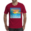 Beauty Sunset Beach Landscape Mens T-Shirt