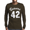 Beavers 42 Mens Long Sleeve T-Shirt