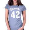 Beavers 42 Womens Fitted T-Shirt
