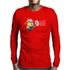 Bee Do Fireman Minion Despicable Me Mens Funny Mens Long Sleeve T-Shirt