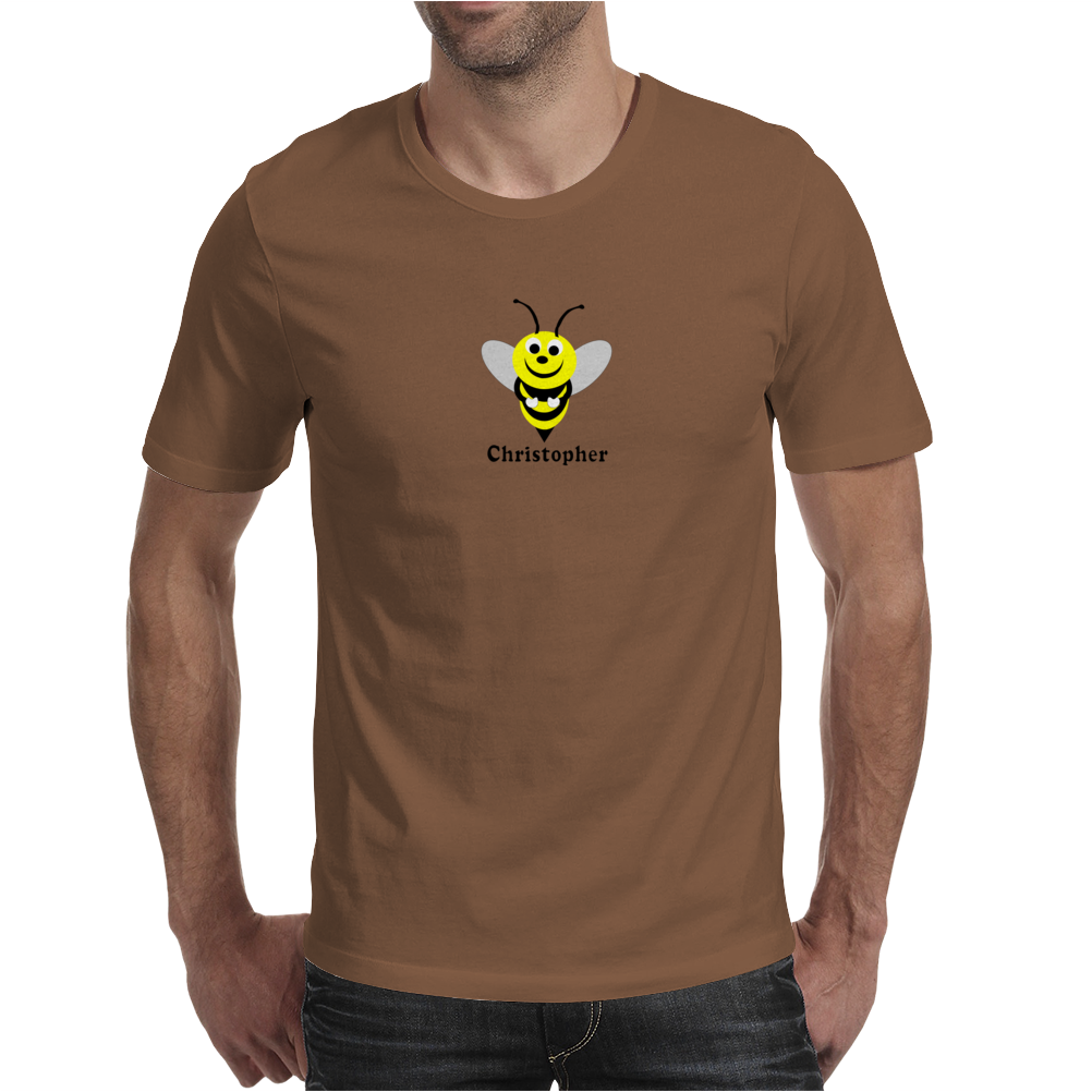 Bee just add name bodysuit Funny Humor Geek Mens T-Shirt