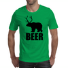 BEER - Bear and Deer Mens T-Shirt