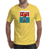 beer can jaws Mens T-Shirt