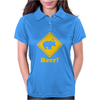 BEER DEER Funny Humor Geek Womens Polo