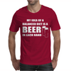 Beer drinkers Beer Diet Balance Mens T-Shirt