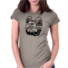 Beer Eagle Funny Humor Geek Womens Fitted T-Shirt