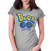 Beer GO Womens Fitted T-Shirt