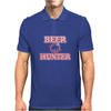 Beer Hunter Funny Humor Geek Mens Polo