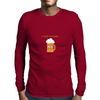 Beer is the answer Mens Long Sleeve T-Shirt