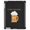 Beer is the answer Tablet (vertical)
