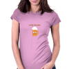 Beer is the answer Womens Fitted T-Shirt