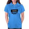 BEER JEEP FUNNY Trucker cap hat Funny Humor Geek Womens Polo