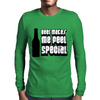 Beer Makes Me Feel Special Mens Long Sleeve T-Shirt