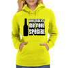 Beer Makes Me Feel Special Womens Hoodie