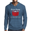 BEER PONG CHAMPION DRINKING GAME Mens Hoodie