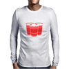 BEER PONG CHAMPION DRINKING GAME Mens Long Sleeve T-Shirt