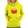 BEER PONG CHAMPION DRINKING GAME Womens Hoodie
