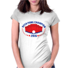 Beer Pong Champion Womens Fitted T-Shirt
