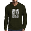 Beer Runs Does That Count As Exercise Funny Mens Hoodie