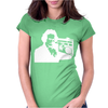 Beethoven Ghetto Blaster Womens Fitted T-Shirt