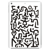 Before Keith Haring there was Paul Klee Tablet (vertical)