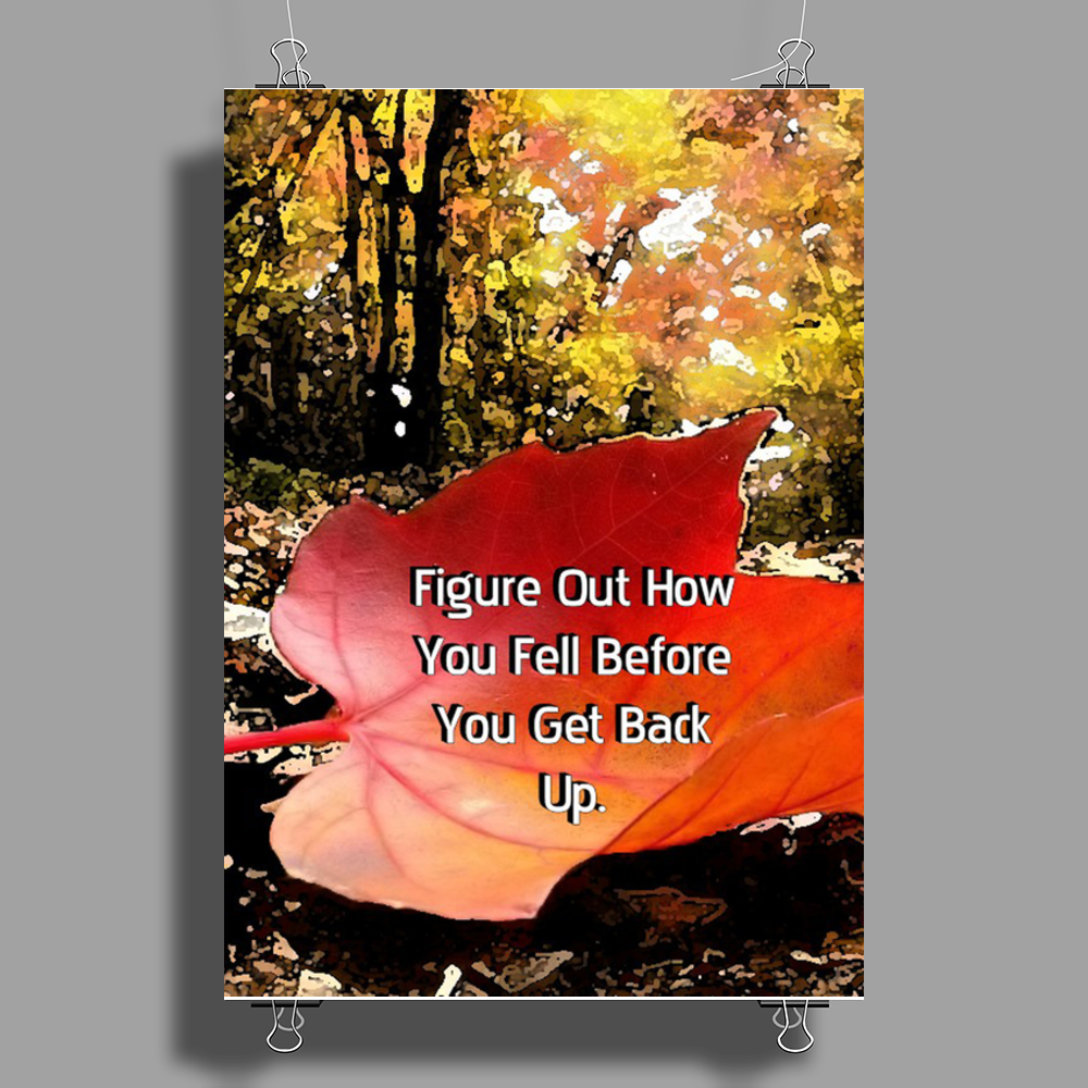 Before You Get Up Poster Print (Portrait)