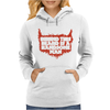 Behind Beard Is A Handsome Man Womens Hoodie
