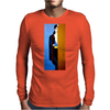 BEHIND THE  DOOR  HER NAME IS BELLA Mens Long Sleeve T-Shirt