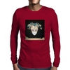 Behind the Mask Mens Long Sleeve T-Shirt