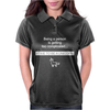 Being A Person Is Getting Womens Polo