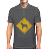 Belgian Malinois Sign Old Mens Polo
