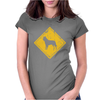 Belgian Malinois Sign Old Womens Fitted T-Shirt