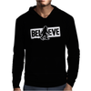 Believe Big Foot Sasquatch Bigfoot Mens Hoodie