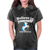 Believe In Yourself (And Unicorns) Womens Polo