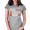 Belly Dancing Only Harder Womens Fitted T-Shirt