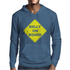 Belly On Board Beer Mens Hoodie
