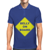 Belly On Board Beer Mens Polo