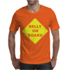Belly On Board Beer Mens T-Shirt