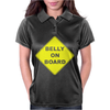 Belly On Board Beer Womens Polo