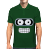 Bender Face Futurama Mens Polo
