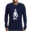 Bender Robot Futurama Mens Long Sleeve T-Shirt